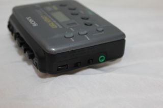 Sony Am FM Cassette Player Walkman Radio Auto Reverse Wm FX435