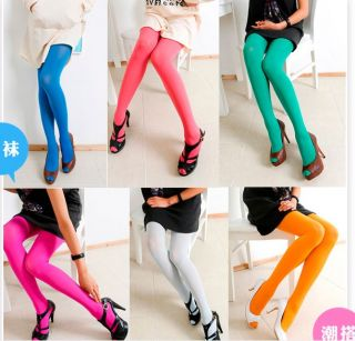 New 80D Opaque Tights Pantyhose Colors Stockings