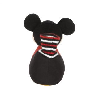 Disney Mickey Mouse Plush Head Socktop Slippers Toddler Small 5 6