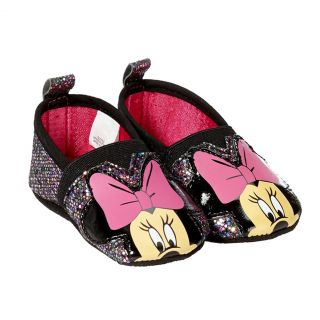 Disney Minnie Mouse Slip on Shoes Slippers Baby Crib Shoes Infant 6 9 Months
