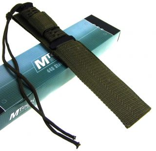 MTech Cord Wrap Full Tang Survival Tanto Blade Knife