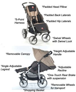 Special Tomato EIO Push Chair Special Needs Stroller