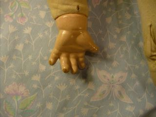Madame Alexander Composition Doll Character Baby 1936 Crier Cloth Body TLC