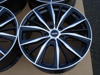 18 Mercedes Benz MB Audi Volkswagen VW Chrysler Crossfire 5x112 Black Wheel Rims