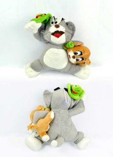 "8"" Tom and Jerry Stuffed Soft Lovely Plush Toys Doll TW1007"