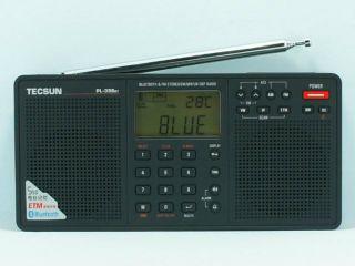 TECSUN PL 398BT FM Stereo SW MW LW DSP ETM World Band Bluetooth Radio