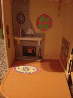 1997 Lot Fisher Price Loving Family Dollhouse 40 Accessories People Furniture