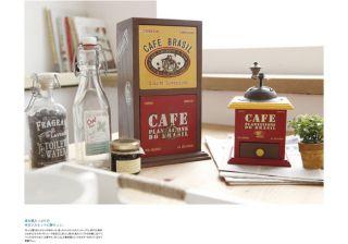 Cafe Multi Purpose Wood Storage Drawer Organizer Wooden Tea Box Kitchen Cabinet
