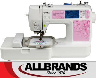 "Brother PE500 $299 Digitizing Software 4x4"" Embroidery Machine SE400 Nosew U 012502619703"