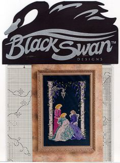 Cross Stitch Chart Black Swan Holiday Generations The Locket Baby Birth New NIP