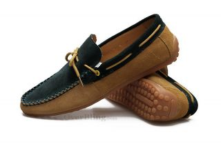 X81050 Mens Shoe New Leather Casual Business Slip on Loafer Mens Driving Shoes