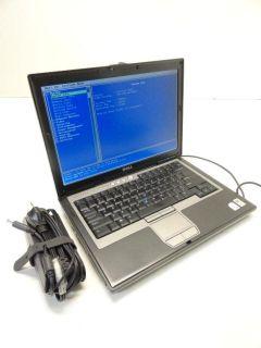 """Dell Latitude D620 14"""""""" Laptop 2 0GHz Core 2 Duo 1GB PC2 5300 60GB DVDRW"""