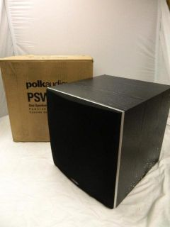 "Polk Audio PSW505 12"" Powered Subwoofer Speaker 460WATTS Black"