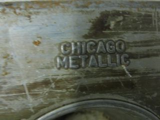 """Chicago Metallic 35 Cup Cake Muffin Pan 2 3 4"""" x 2"""" Cup 25 3 4"""" x 17 1 2"""""""