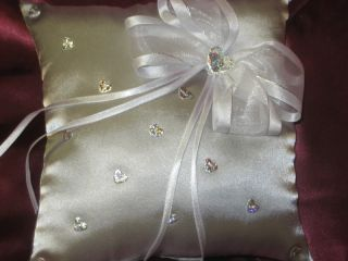 Wedding Ring Pillow Hand Made in Australia Many Colour