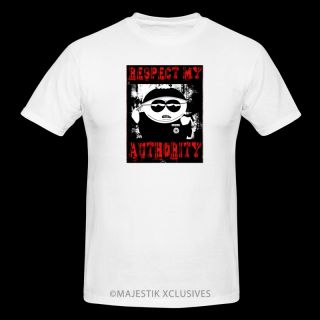 Respect My Authority T Shirt Cartman South Park Season Funny Humor 1 2 3 4 5 6 7