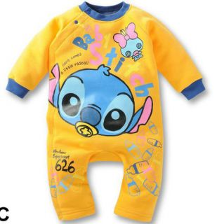 Baby Boys Girls Cartoon Character Playsuits Romper Fleece Cotton 3 21 Month