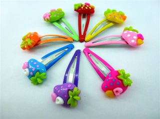 10 20 40 Pcs Assorted Girl Baby Toddler Kid Favour Dancing Hair Clips for Kids