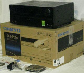 As Is Onkyo TX NR616 THX Certified Network 7 2 Channel Internet Cloud Stream
