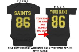 Details About Packers Baby Onsie Jersey Infant Shirt Clothes
