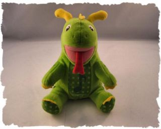 Cute Baby Einstein Singing Musical Green Dinosaur Plush