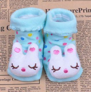 Newborn Baby Socks Anti Slip Socks Animal Cartoon Warm Socks Unisex Shoes Boots