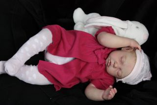 Beautiful Lifelike Reborn Baby Doll 'Chloe' 'Camille' by Ann Timmerman