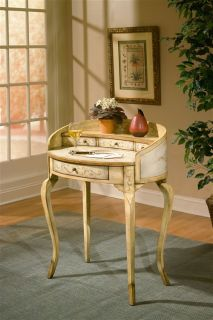 Shabby French Country Chic Style Decor Painted Writing Desk Office Furniture New