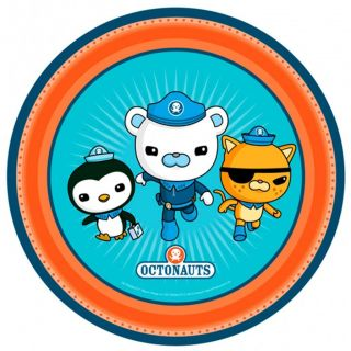 Octonauts Birthday Party Supplies Pack of 8 Dinner Plates 23cm Diameter