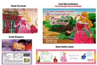 Princess Sleeping Beauty Birthday Party Ticket Invitations Supplies Favors