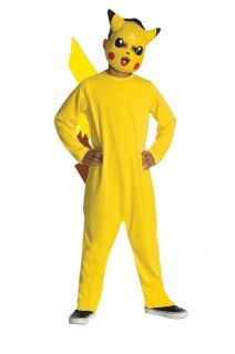 Pokemon Pikachu Anime Cartoon Costume Child Toddler Small Medium Large