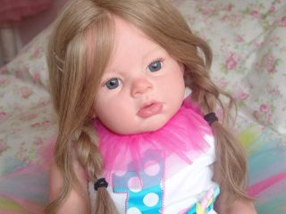 Reborn Arianna Fake Baby Toddler Lifelike Doll Reva Schick Lifelike Ready 2 SHIP