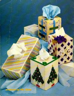 Plastic Canvas Pattern Tissue Box Covers