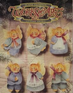 Works of Art Littlest Angels Elaine Thompson Decorative Tole Painting Pattern