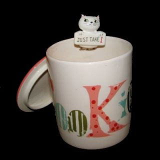 Vintage Pop Up Holt Howard Cozy Kitten Cookie Jar Cat Condiment Pixie Canister
