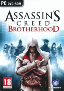 Assassins Creed Brotherhood for PC DVD ROM SEALED New 008888686255