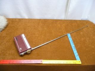 Vintage Sony Corporation 8 Transitor Radio Model TR 831 Red Short Wave MW SW