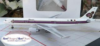 Thai Airbus A330 321 HS TEB Three Logos 1 400 Scale Diecast Aeroclassics