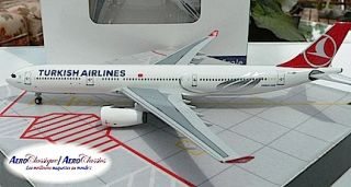 Turkish Airlines Airbus A330 343 TC JNH 1 400 Scale Diecast Aeroclassics