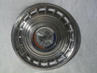 "Vintage 1963 Ford Galaxie 500 Hubcap Hub Cap Wheel Cover 14""D w Center Cap"