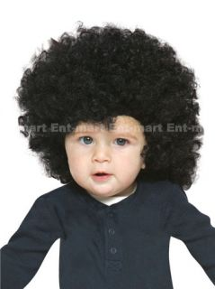 70s Toddler Afro Child Adult Curly Wig Black Cute Costume Party Fun