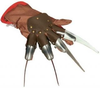 Freddy Freddie Krueger A Nightmare on Elm Street Halloween Plastic Knives Glove