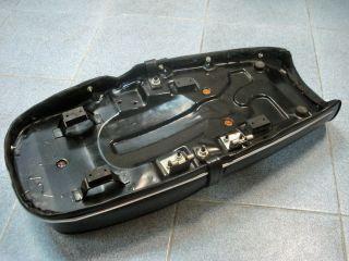 For Suzuki GT100 GT125 GT185 Dual Seat Assembly Chrome Rim Genuine