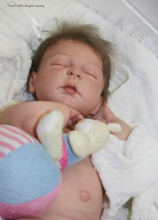Reborn Baby Doll Cameron New LDC Softline Sheila Michael Full Body Baby