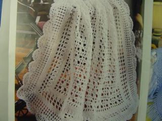 Leisure Arts Baby Afghans Crochet Patterns Best of Terry Kimbrough 20 Patterns