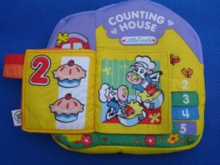 Leap Frog Baby Counting House Learning Plush Book Toy
