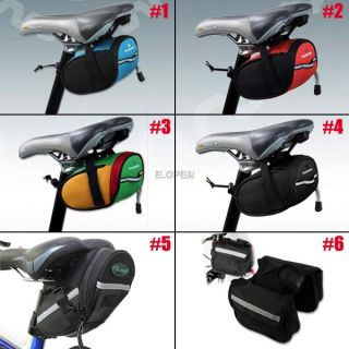 Bicycle Cycling Saddle Pouch Pannier Rear Back Seat Bike Frame Extending Bag