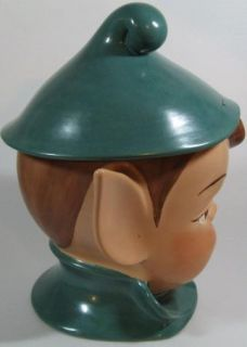 Vintage Elf Cookie Jar