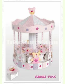 """Unique Baby Girl Gift Party Decoration Baptism Baby Shower Favor 10""""x11"""" AB1012"""