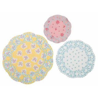 Truly Scrumptious Vintage Theme Pack of 24 Pretty Doilies